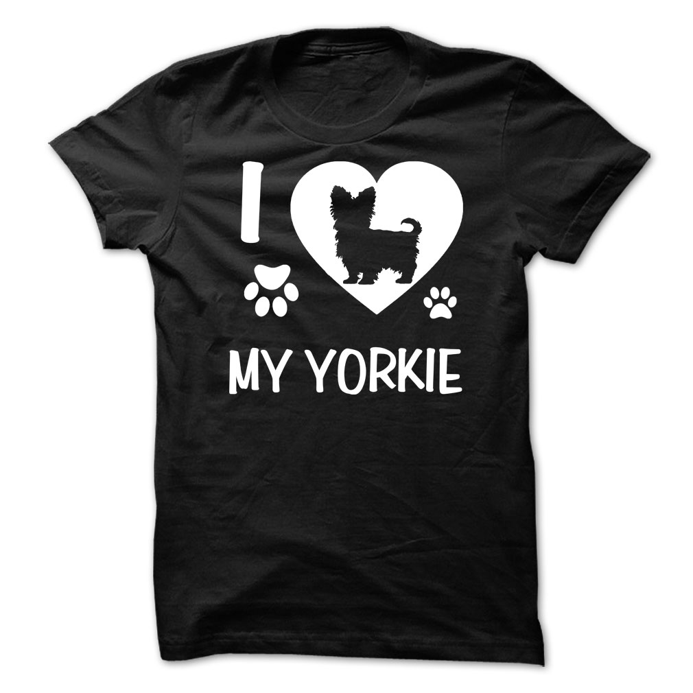 I Love Heart My Yorkshire Terrier T-Shirt