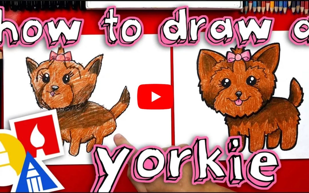Learn How To Draw A Yorkie
